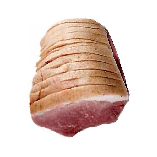Skinkesteg u.ben m. svær ca. 1800 gr.