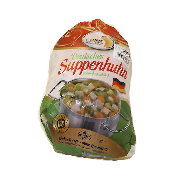 Suppehøne 3 stk. 9 kg.