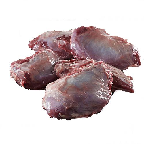 Grisekæbeklump, 4 stk. ca. 250 gr.